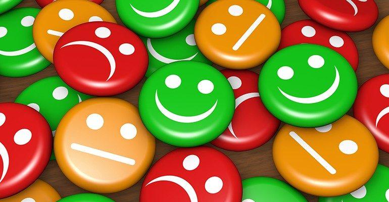 caritas felices y tristes